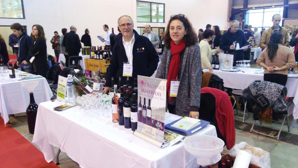 Alliance minervois vignerons r unis alliance minervois for Salon bio montpellier